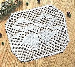 Úžitkový textil - Vianočná so zvončekmi - 12578352_