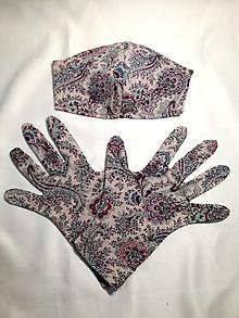 Rúška - Ochranné Rúško a rukavice - sada - 12577271_