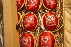 Dekorácie - Oriešky Love - kolekcia 9 kusov - 12580714_