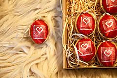 Dekorácie - Oriešky Love - kolekcia 9 kusov - 12580720_