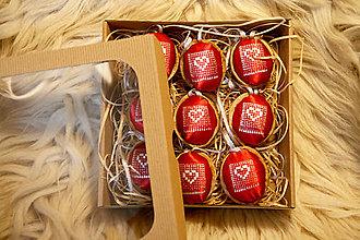 Dekorácie - Oriešky Love - kolekcia 9 kusov - 12580713_
