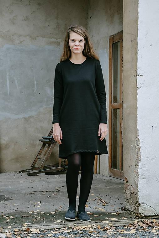 Šaty - Šaty Black Fairly - 12587181_