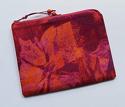 Taštičky - SAShEnka no. 228 - Květy v růžovém snění - 12584761_