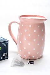 Nádoby - Ružový čajník nielen na čajík - 12585684_