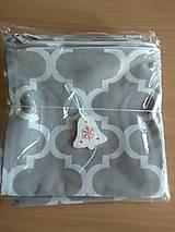 Úžitkový textil - Vankúše sivé maroko 3ks - 12585876_