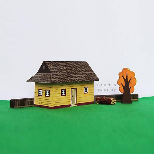 Miniatúrna drevenica z Vlkolínca (Vlkolínec)