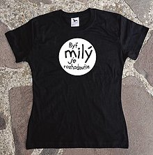 Tričká - milé tričko - 12588356_