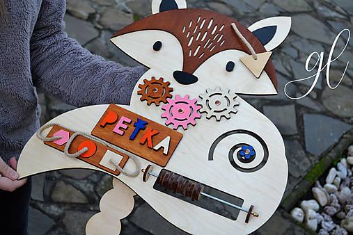 Interaktívna líška pre dievčatko