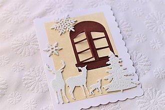 Papiernictvo - Zimná pohľadnica - 12587748_