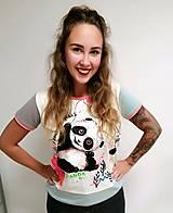 Tričká - Panda - 12586169_
