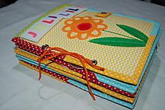 Hračky - Predná a zadná - kvety - 12587144_