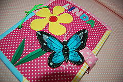 Hračky - Predná a zadná  - motýľ - 12588265_