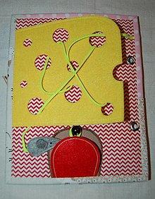 Hračky - myška - 12584025_