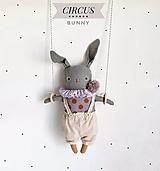 """Hračky - Zajačik """"Circus"""" - 12585849_"""