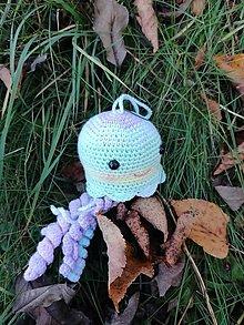 Hračky - Chobotnička na ruksak - 12592473_