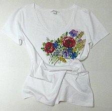 Tričká - Lúčne kvety (M) - 12593295_