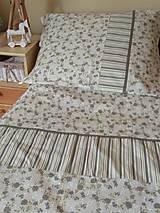 Úžitkový textil - POSTEĽNÉ OBLIEČKY zelené ružičky - 12591941_