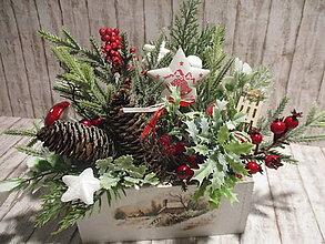 Dekorácie - Vianočná dekorácia - 12592266_