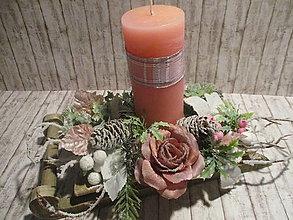 Dekorácie - Vianočná dekorácia - sane - 12592652_
