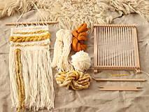 Dekorácie - Sada na tkanie tapisérie - 12589174_