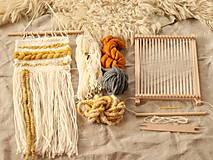 Dekorácie - Sada na tkanie tapisérie - 12589179_