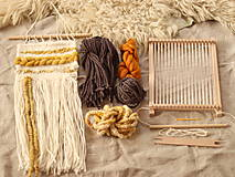 Dekorácie - Sada na tkanie tapisérie - 12589182_