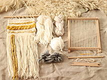 Dekorácie - Sada na tkanie tapisérie - 12589194_