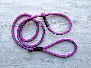 Pre zvieratká - Lanové vodítko EASY // wild purple 9.5 mm - 12593419_