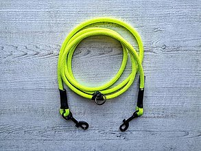 Pre zvieratká - Lanové vodítko FLEXI // neon 8.5 mm - 12593551_