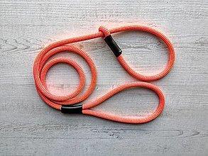 Pre zvieratká - Lanové vodítko EASY // orange lime 9.5 mm - 12593634_