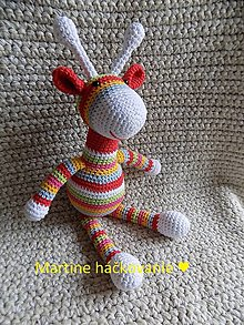 Hračky - žirafka ♥ - 12589676_