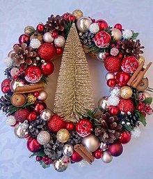 Dekorácie - Vianočný veniec - 12590711_