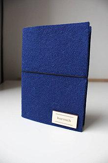 Papiernictvo - A6 Diár 2021 - navy blue ZĽAVA 40% - 12591406_