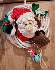Dekorácie - Vianočný veniec - 12598037_