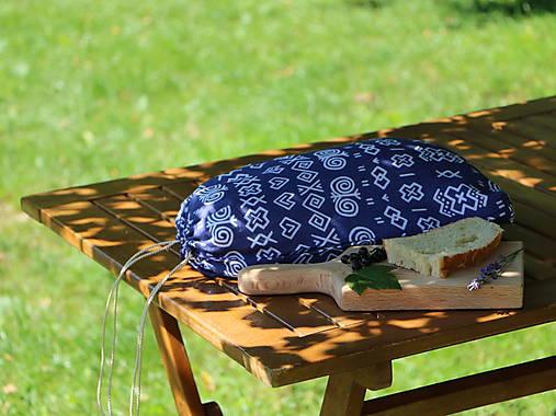 Ľanové vrecko na chlieb čičmany