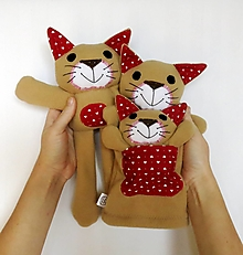 Hračky - Maňuška mačka (Rodinka vonMňau zo Srdiečkovej doliny - na objednávku) - 12597955_