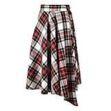 Sukne - ASTRID - áčková zavinovacia sukňa so skladmi a predným cípom - 12595207_
