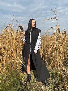 Kabáty - Dlhá vesta CITY LOOK - 12600114_