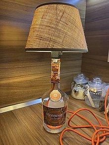 Svietidlá a sviečky - Lampa z fľaše - 12599343_