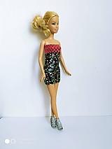 Hračky - Mini šaty pestré pre Barbie - 12595048_