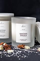 Svietidlá a sviečky - Vianočná edícia - Babičkina štrúdľa - 12594458_