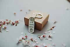 Kľúčenky - Kľúčenka Môj Prvý vlastný domov - 12601161_