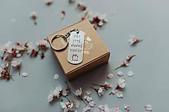 Kľúčenky - Kľúčenka Môj Prvý vlastný domov - 12601162_