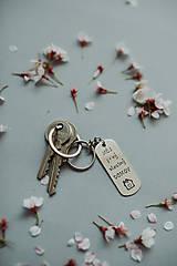 Kľúčenky - Kľúčenka Môj Prvý vlastný domov - 12601165_
