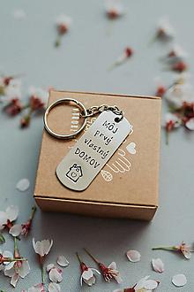 Kľúčenky - Kľúčenka Môj Prvý vlastný domov - 12601163_
