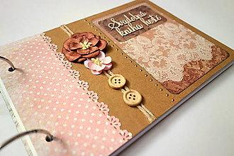 Papiernictvo - Kniha hostí svadobná A5 - 12602290_