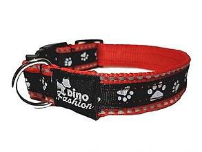 Pre zvieratká - Reflexný obojok Dog Paws - 12602555_