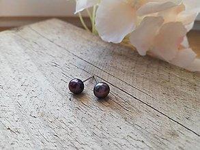 Náušnice - Riečna perla - 12606621_