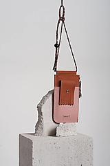 Iné tašky - Phone purse Teracotanude - 12600966_