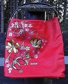 Kabelky - Maľovaná kabelka 47 - Lara Bags - 12604238_
